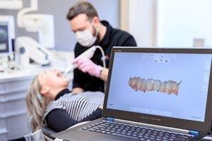 trios scanner 598b7d9b1965d 300x200 1 Dentist Stratford | Dentist Near Me ON | Dental Office N5A 3J7 - Coventry Dental Care